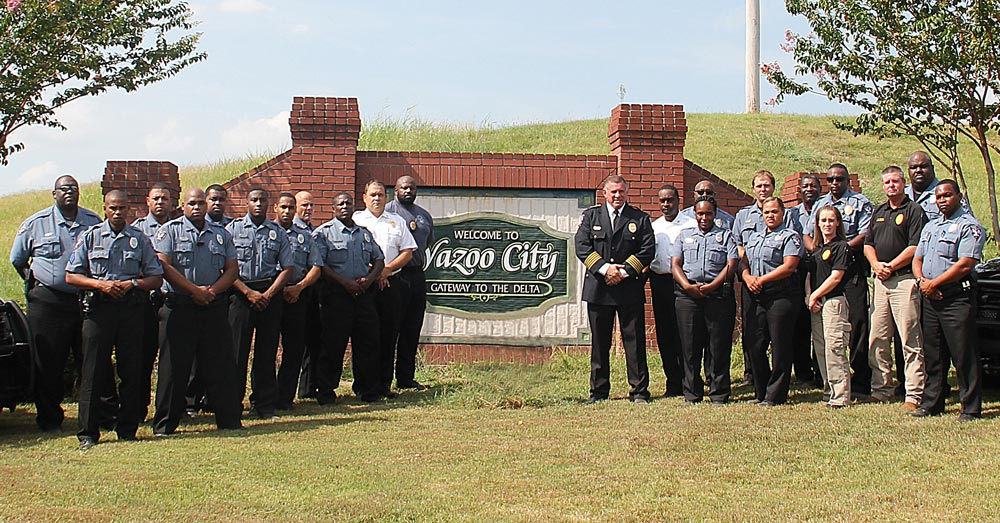 Yazoo City Police Department Staff